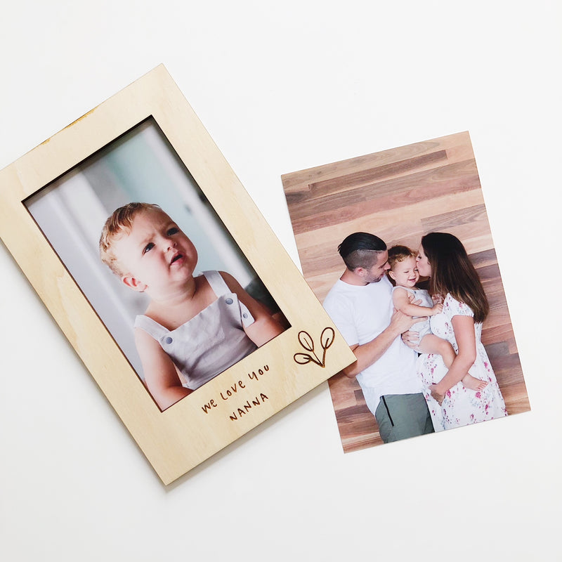 Special Message Photo Frames (custom)