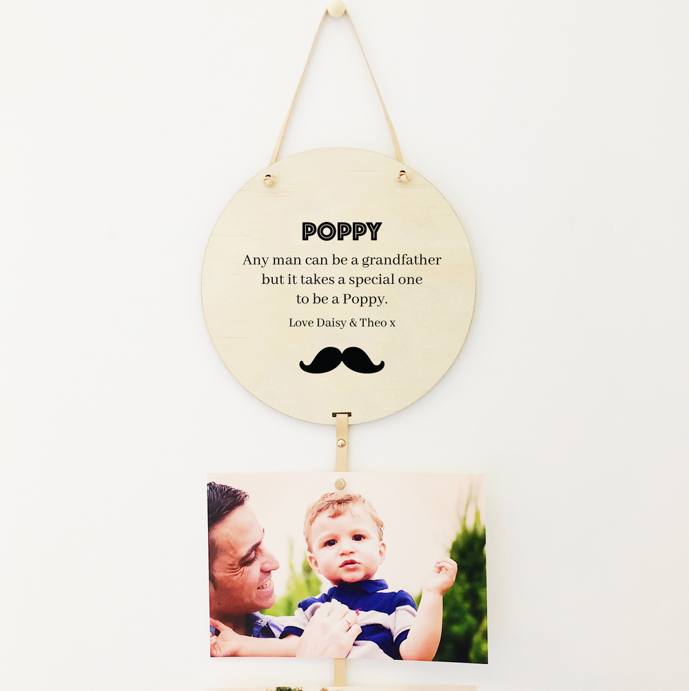 Memory Drops for Dad - Moustache