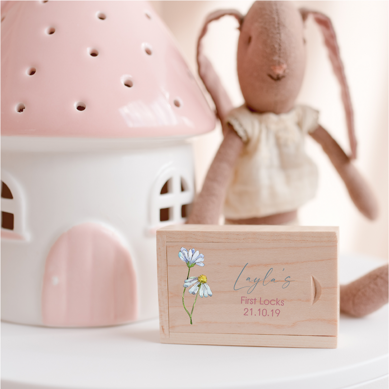First Haircut Keepsake Box