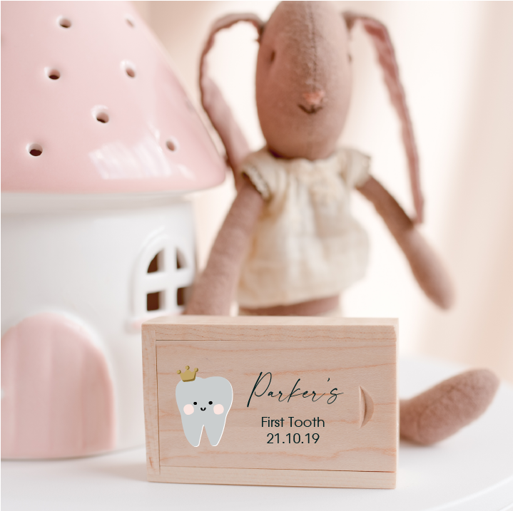 First Tooth Keepsake Box