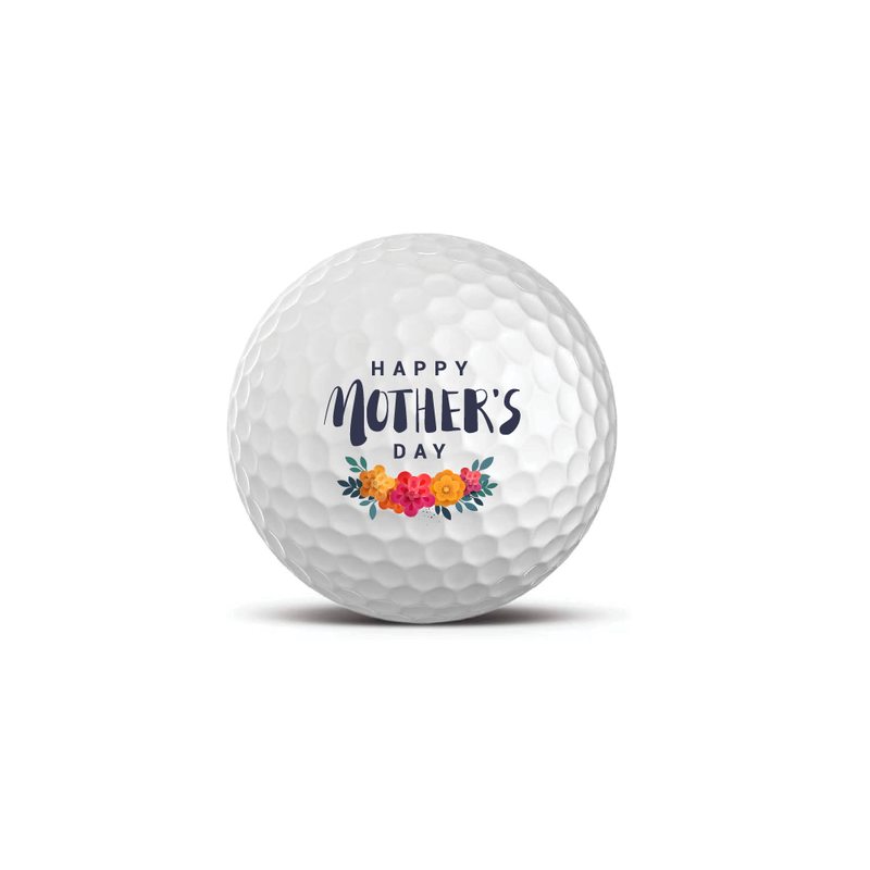 Set of 3 Premium Golf Balls - Happy Mother's Day