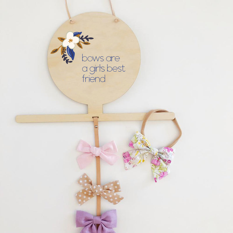 Hair Accessory Drops - Girl's best friend (ready-made)