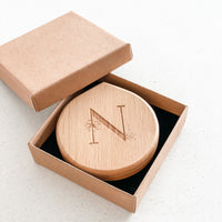 Etched Compact Mirror