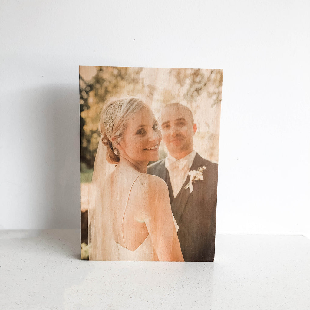 Wooden Photo Blocks A5