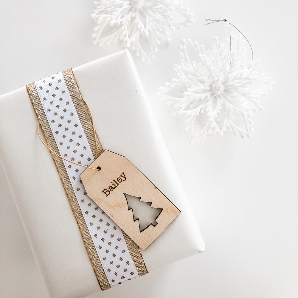 Christmas Gift Tags - Trees