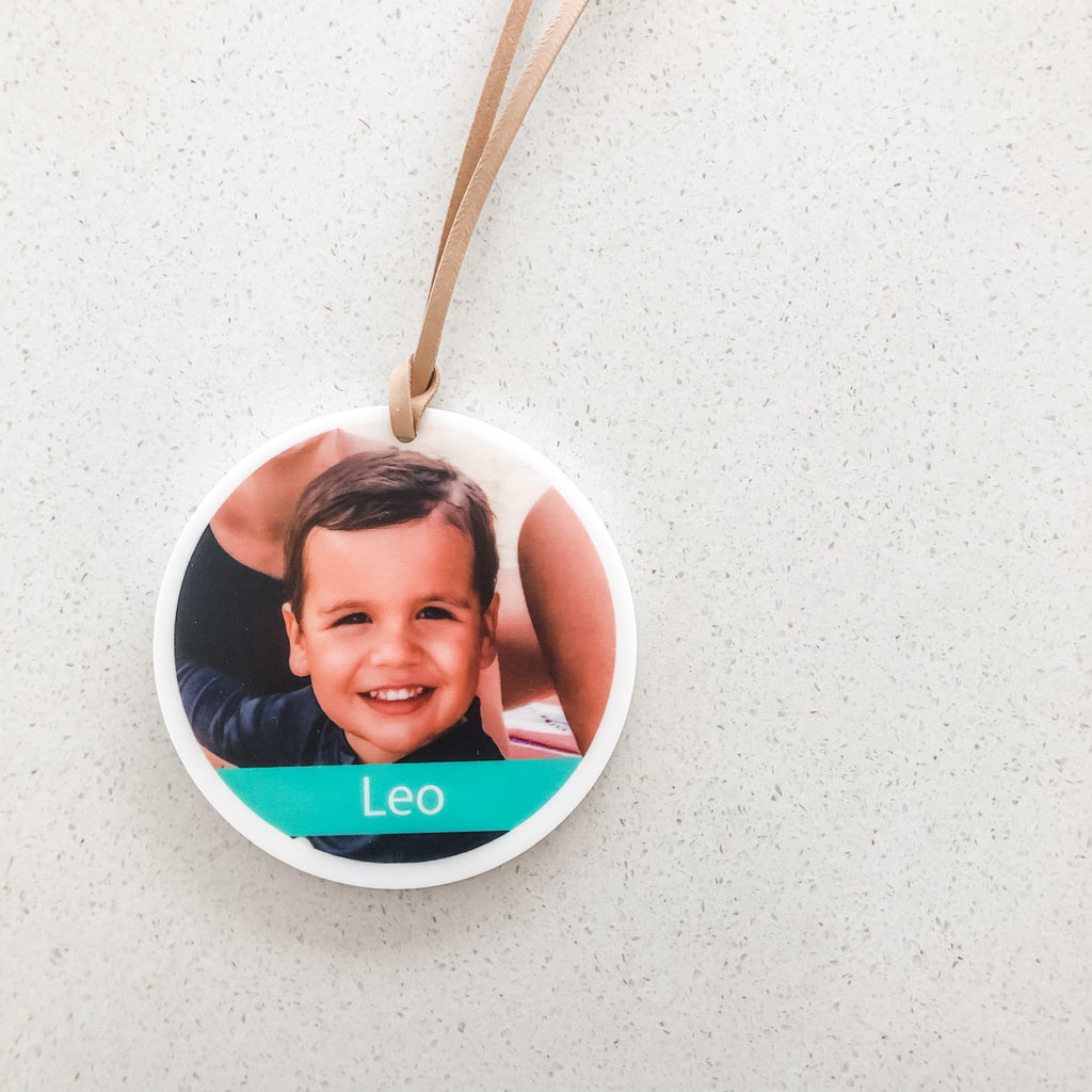 Photo Bag Tags - Round