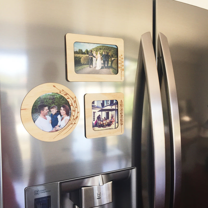 Magnetic Photo Frames (multiple designs)