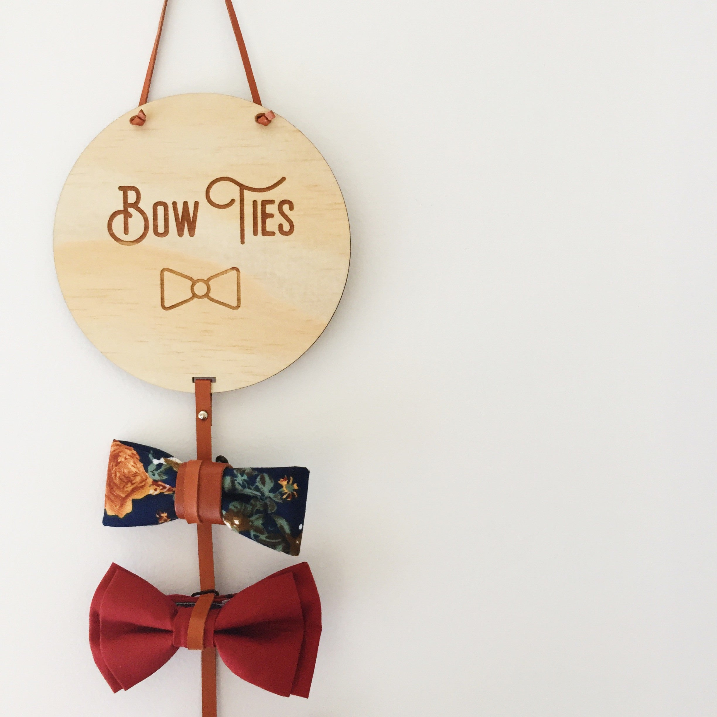 Bow Tie Drops (ready-made)