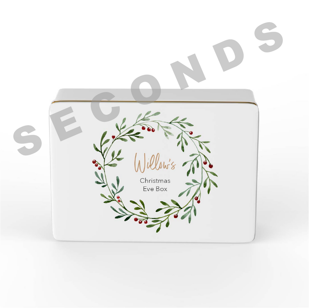 {Seconds} Keepsake Box - Christmas - Design 1