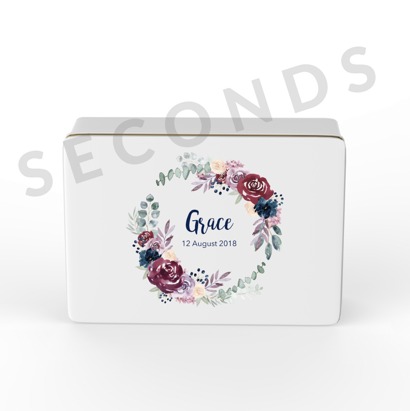 {Seconds} Keepsake Box - Design 11