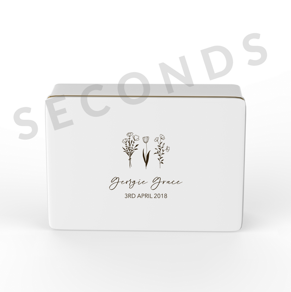 {Seconds} Keepsake Box - Design 7