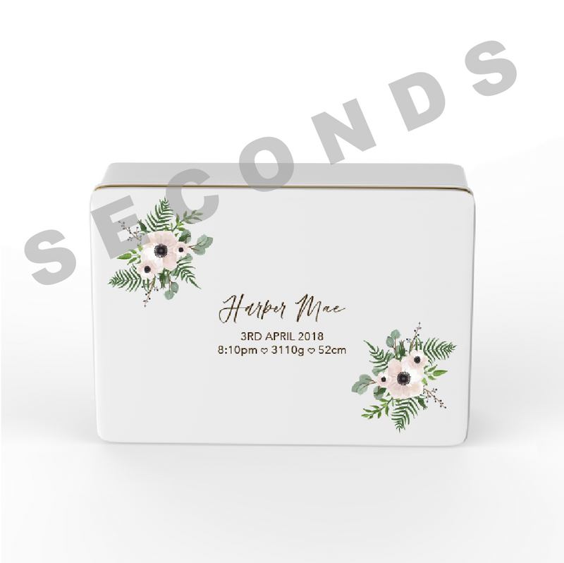 {Seconds} Keepsake Box - Design 17