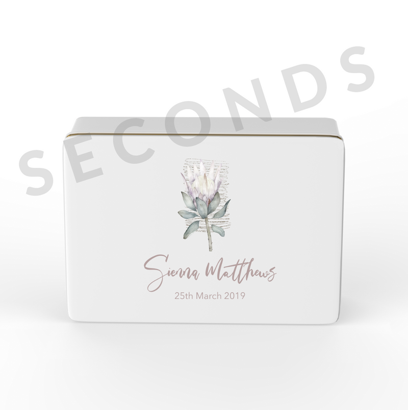 {Seconds} Keepsake Box - Design 10