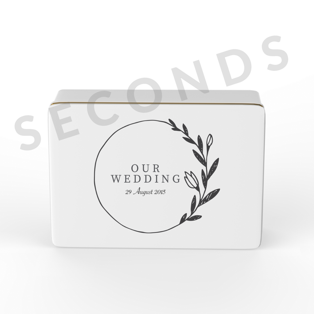 Keepsake Box {Seconds} - Wedding - Design 3