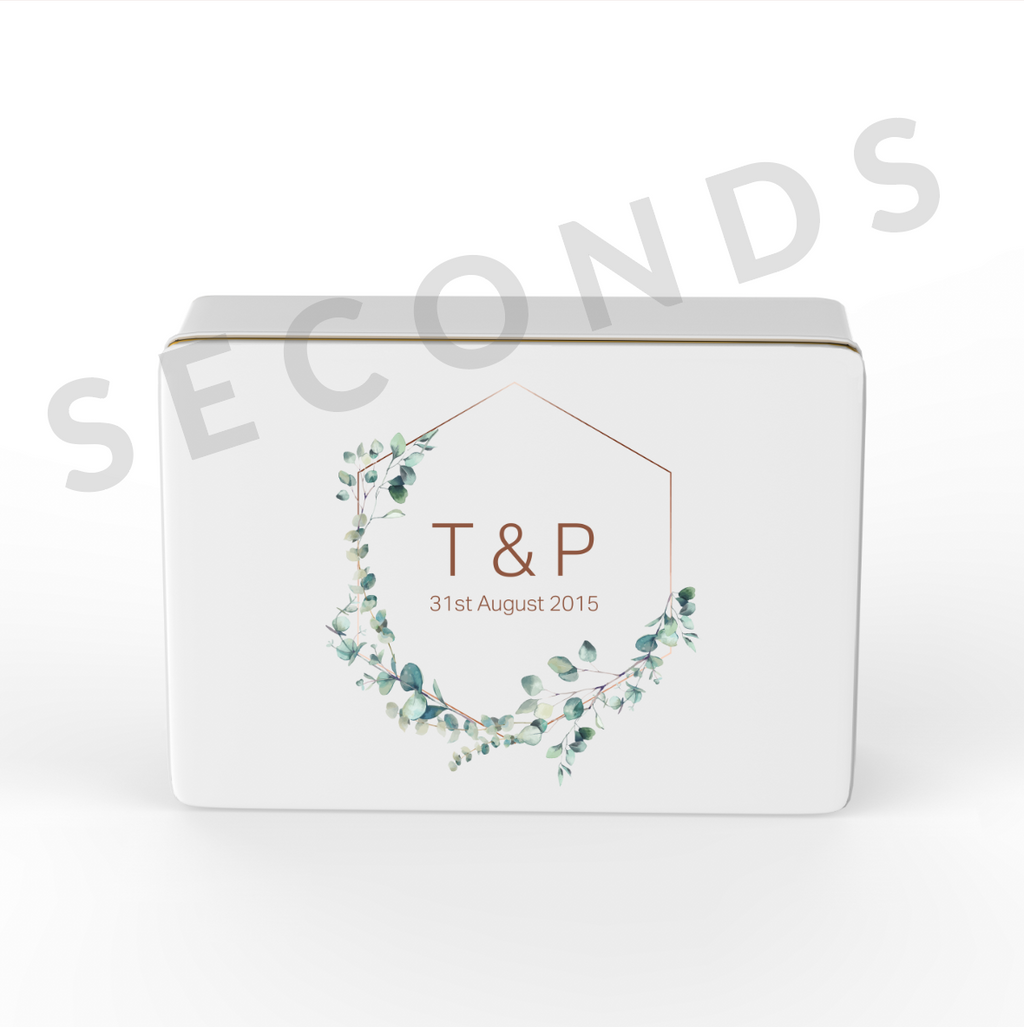 Keepsake Box {Seconds} - Wedding - Design 2