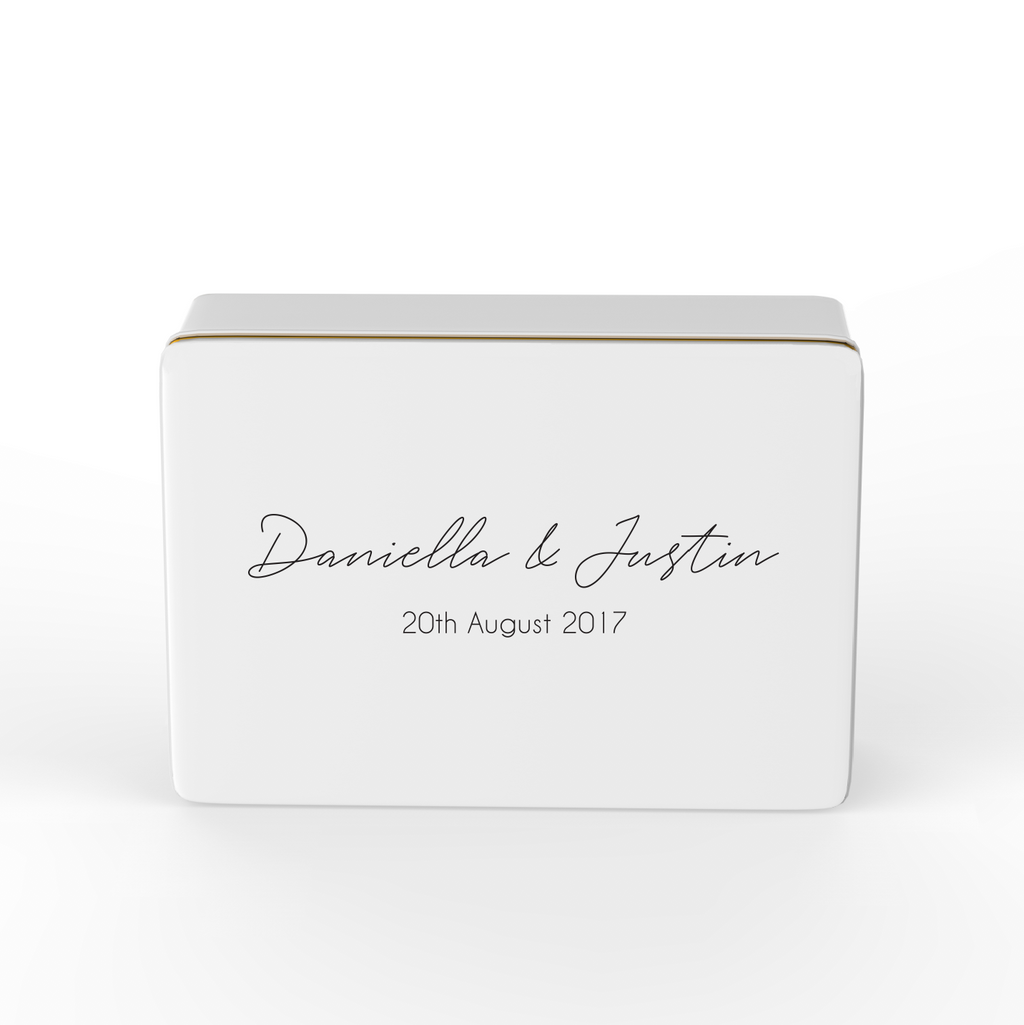 Keepsake Box - Wedding - Design 4