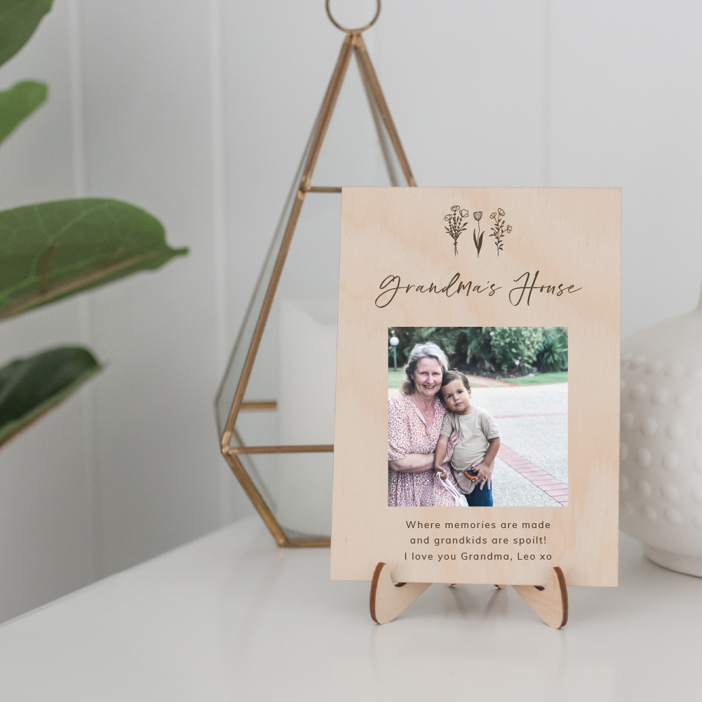 Mother's Day Photo Plaques