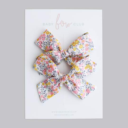 Liberty Berries // Mini Bow // Pigtail Set