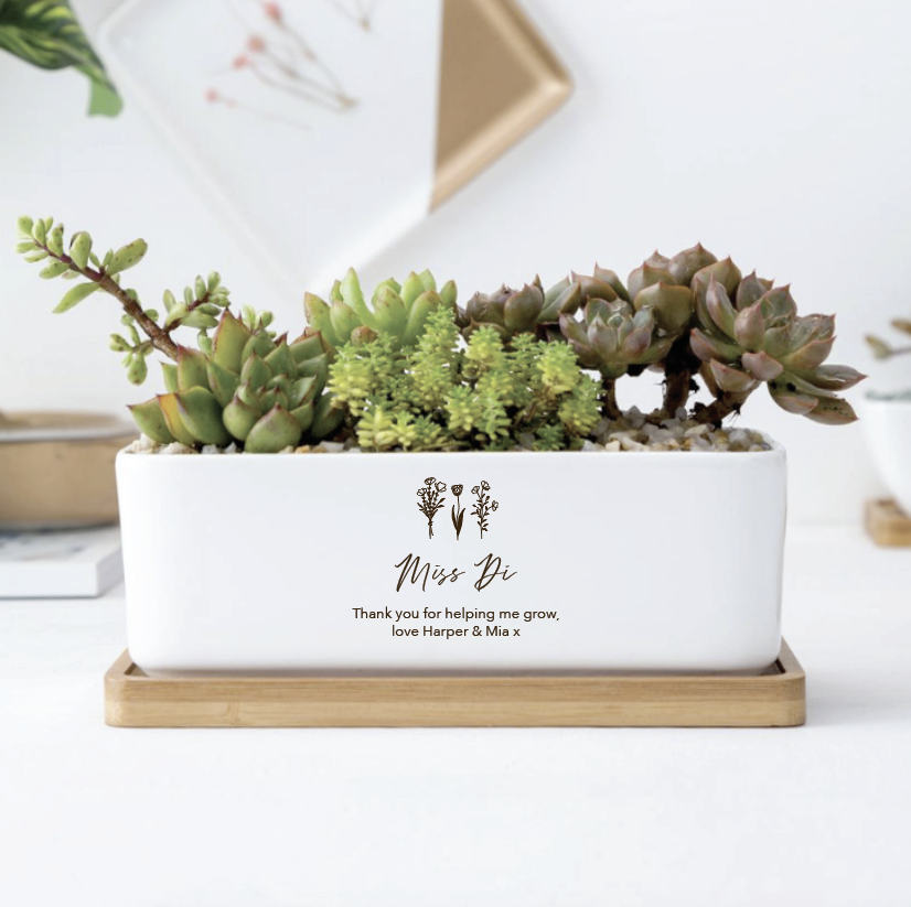Ceramic Planter Rectangle