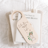 Printed Easter Bunny Stop Here Door Hanger