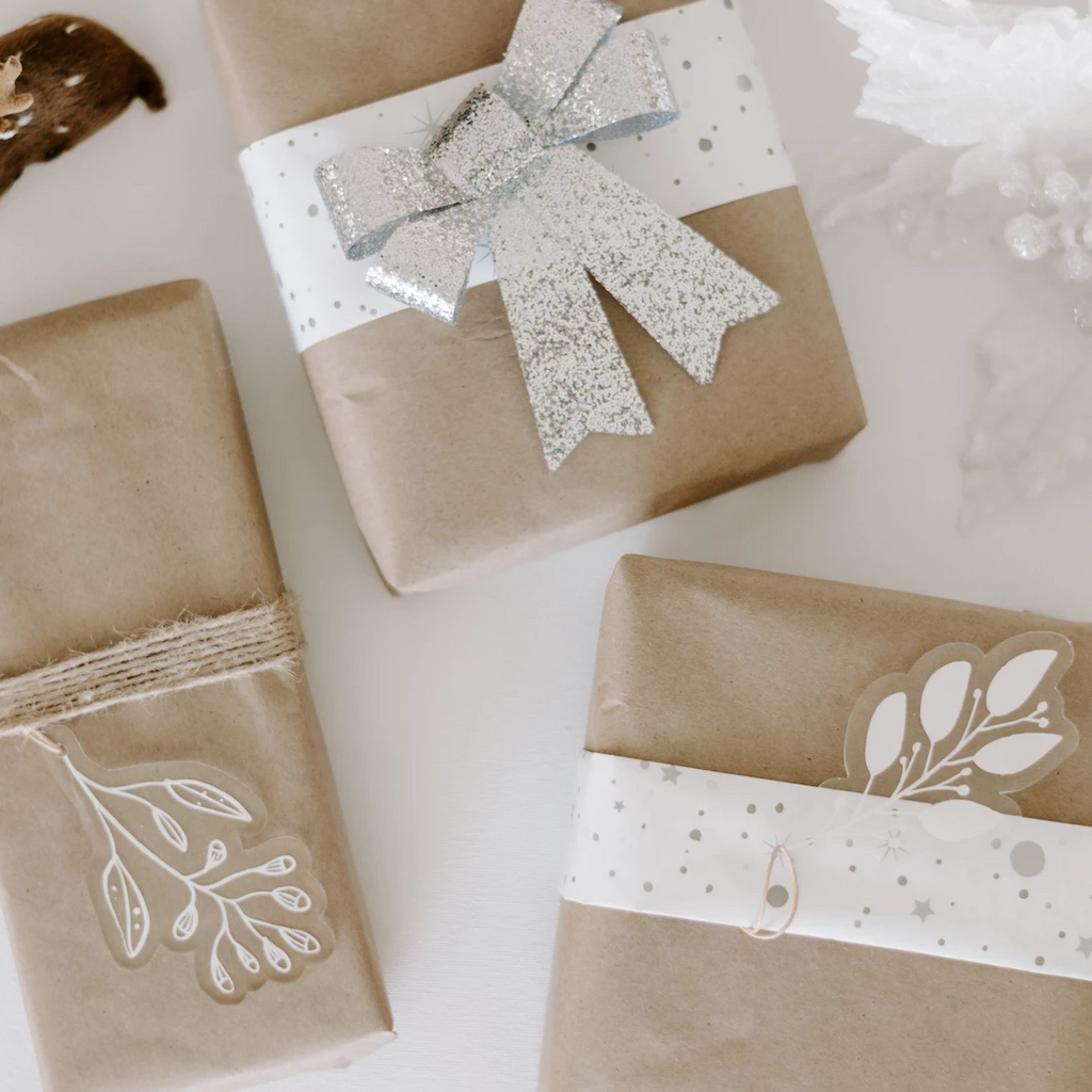 Christmas Bundle 1 - Leaves + Tags (set of 10)