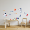 Timber Wall Decals - Space