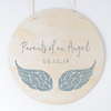 Angel Baby Plaques - multiple designs (custom)
