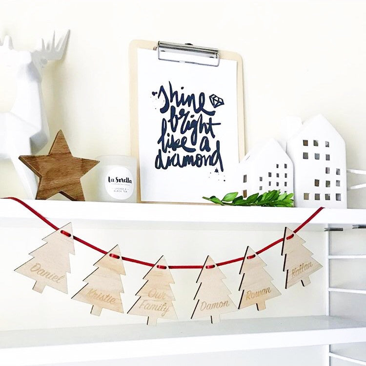 Christmas Tree Garlands (custom)