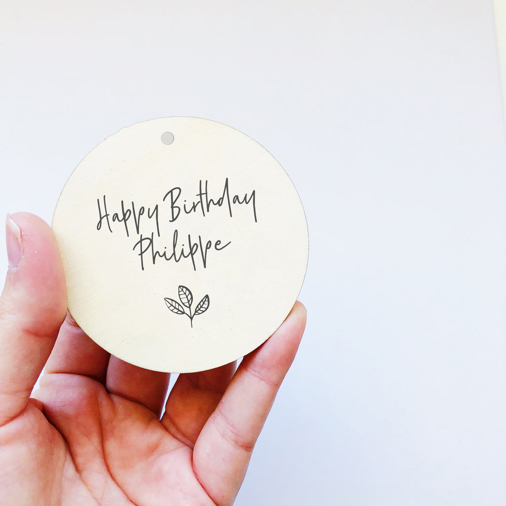 Wooden Gift Tags (custom)