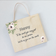 Mother's Day Rectangle Plaques - Florals (custom)