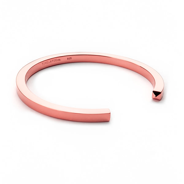 The Circle Bangle - Rose Gold - Thick - Timelapse Co.