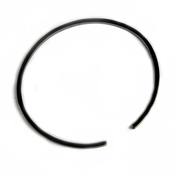 The Circle Bangle - Jet Black - Thin - Timelapse Co.