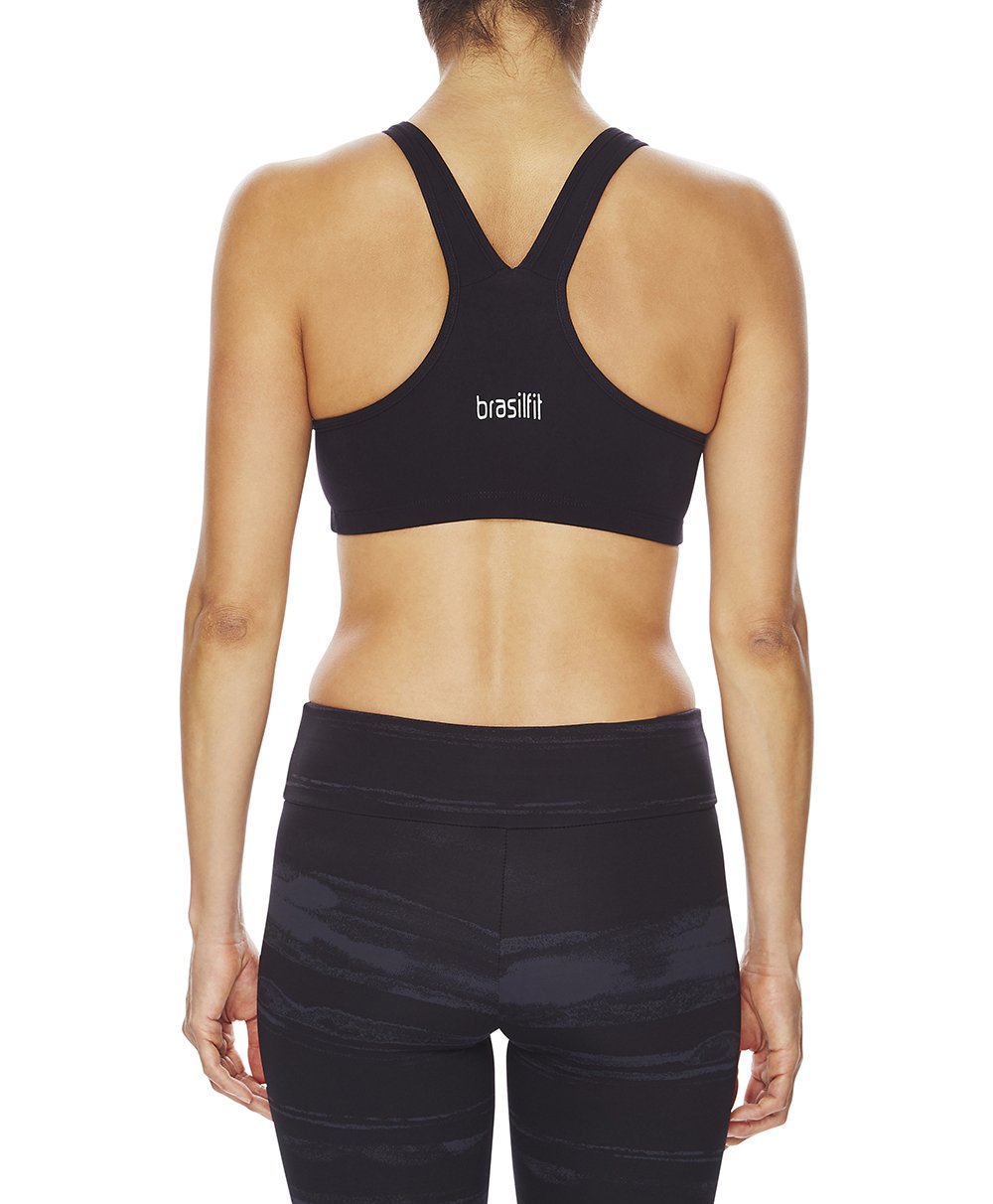 Alba Crop Top - Black