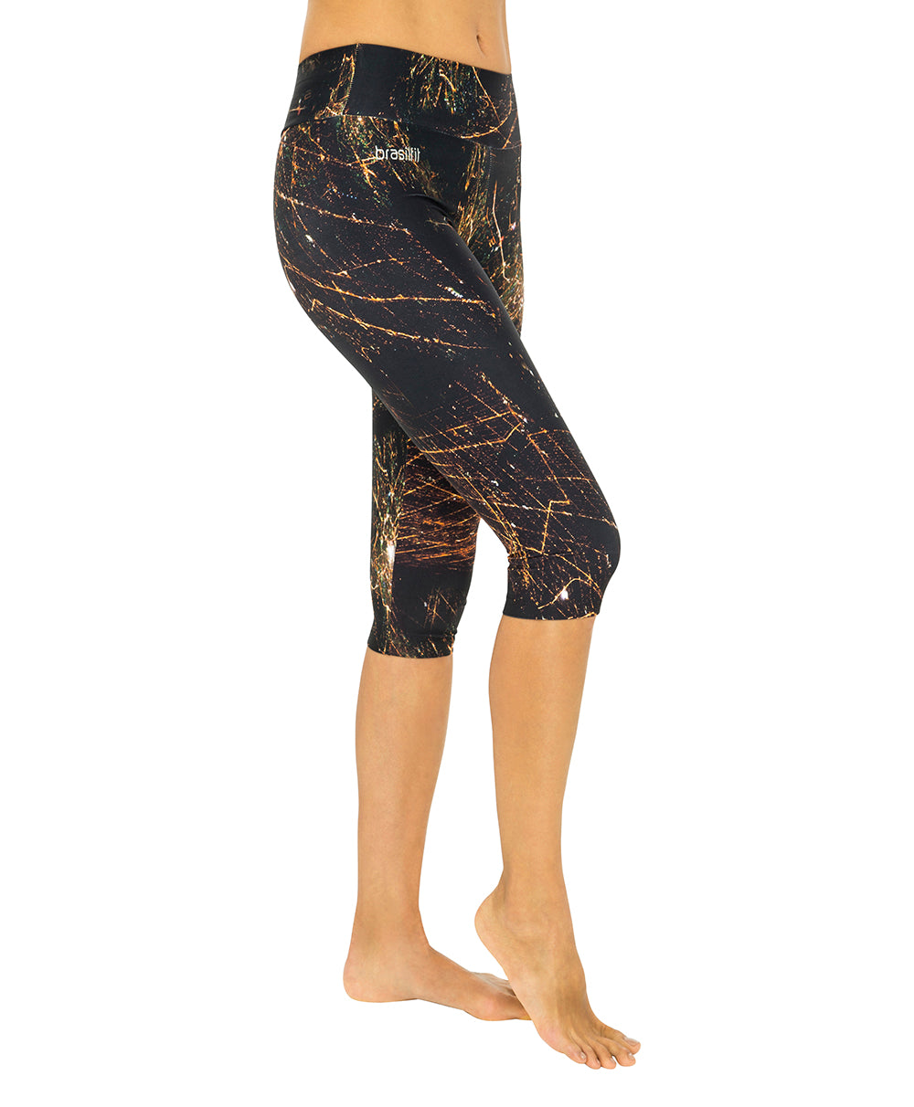 Cosmic Karma Under Knee Legging