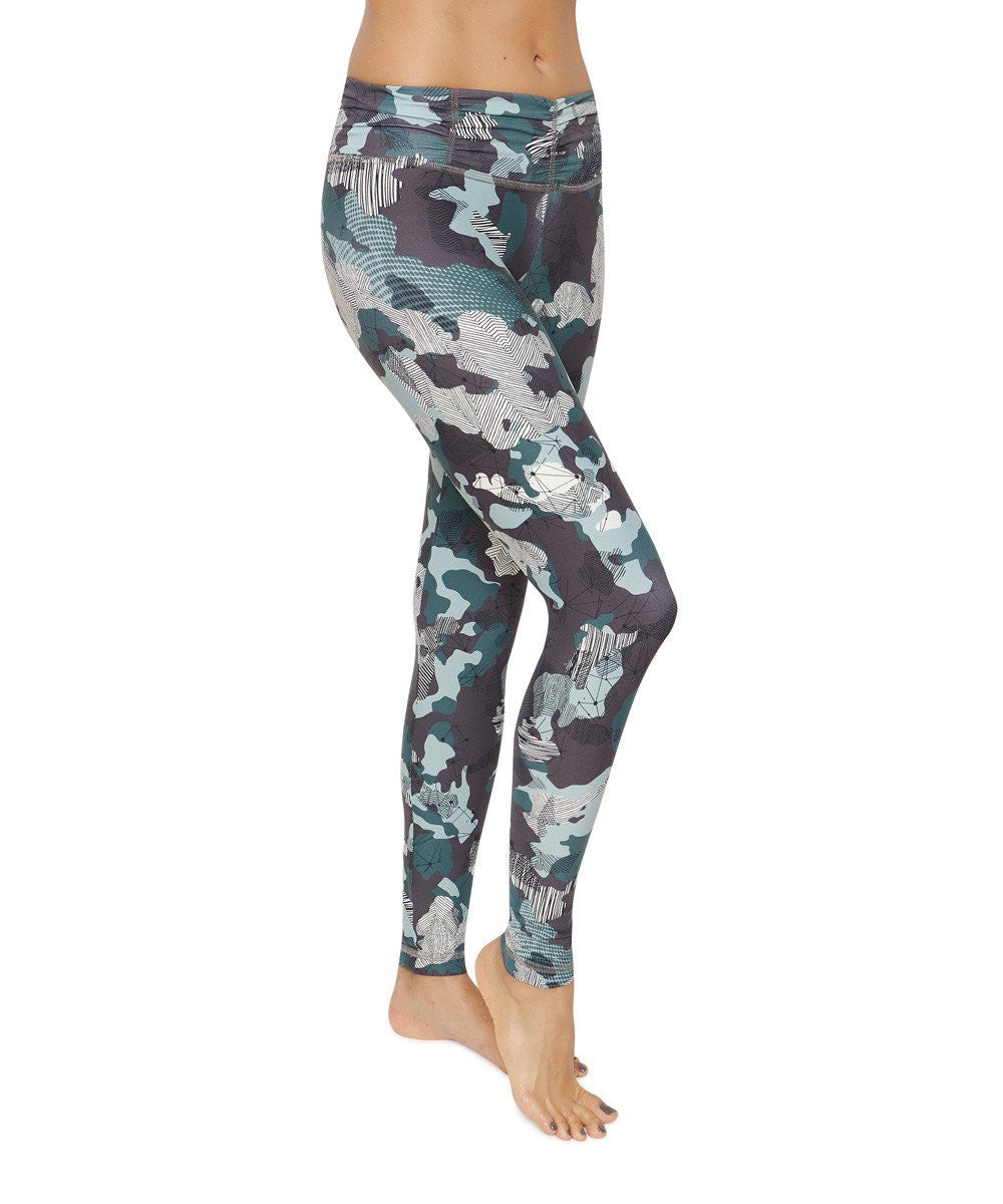 Product image for Brasilfit Hero full length activewear leggings.  Hero leggings are part of our Crazy prints activewear collection that is focused on performance activewear with colourful prints