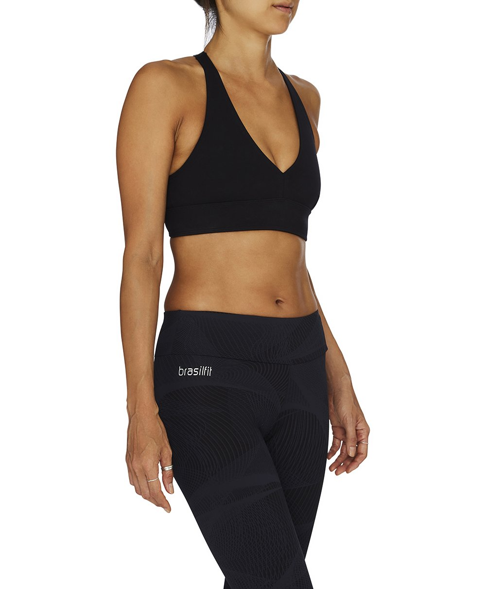 Ilheus Crop Top - Black