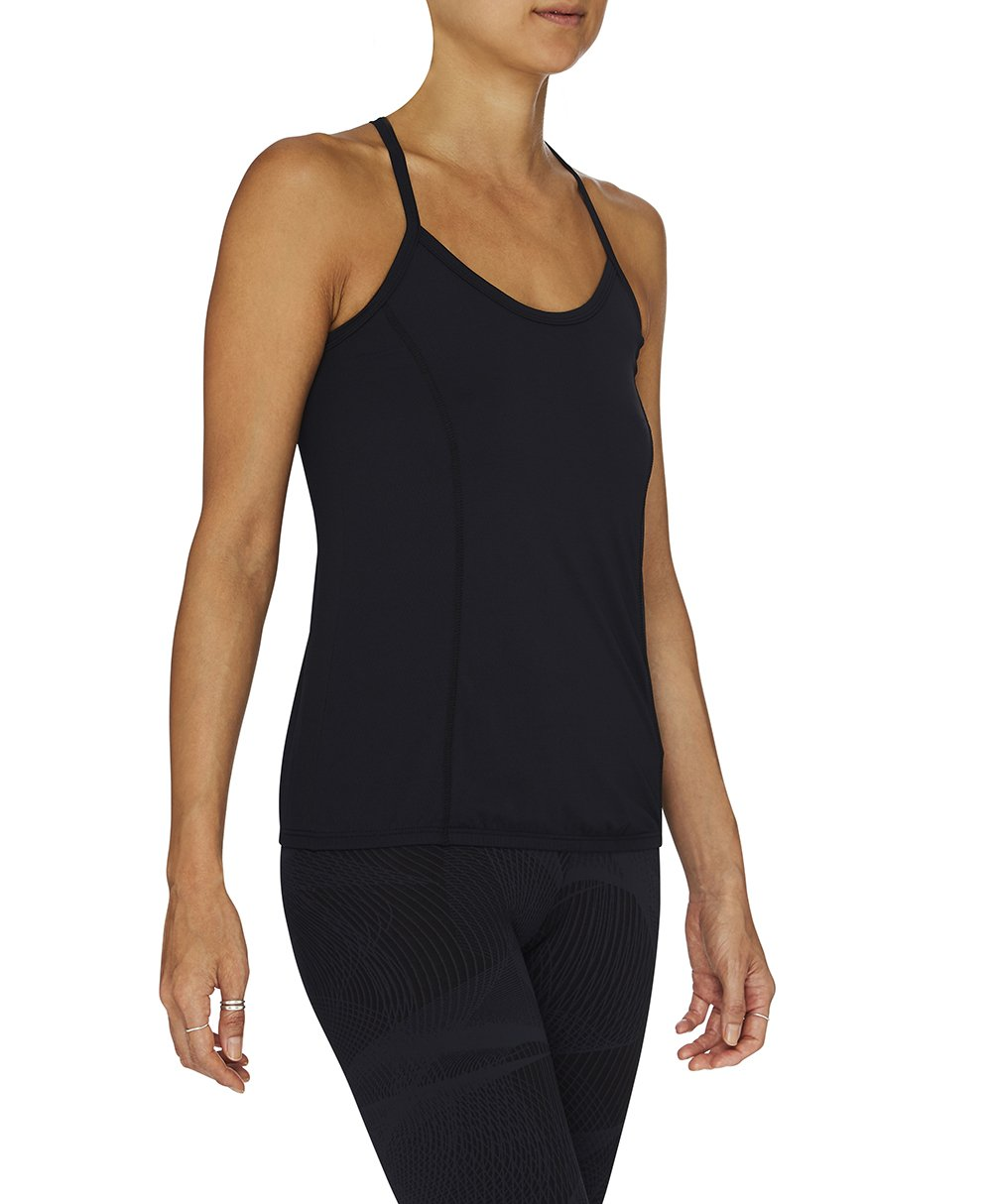 Juliana Black Singlet