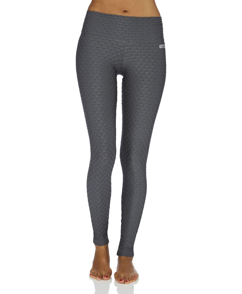 Wallpaper Full Length Legging - Grey