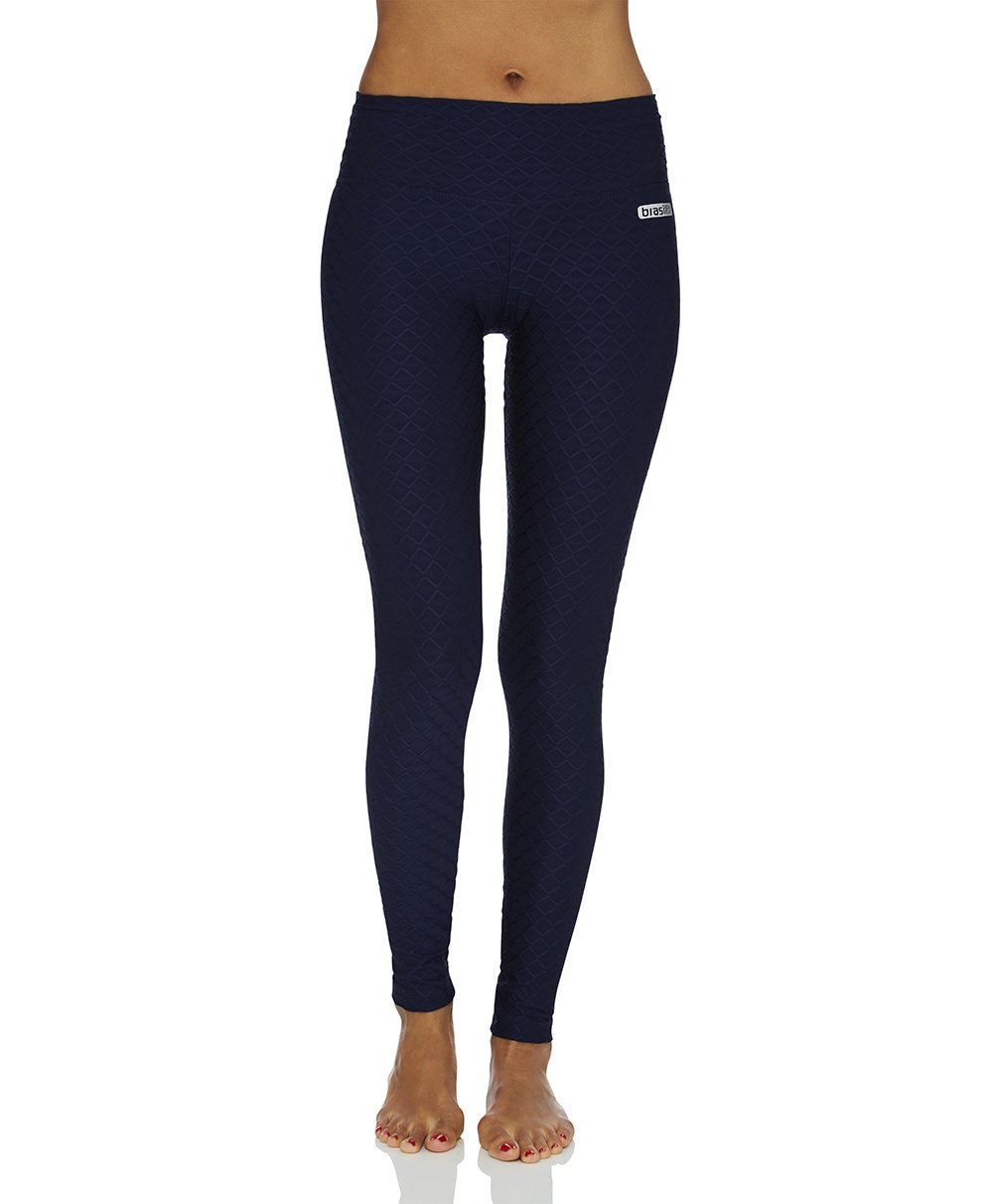 Wallpaper Full Length Legging - Navy