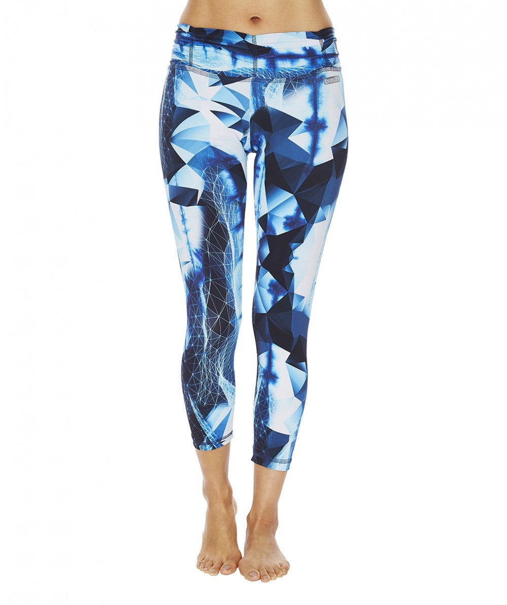 Fractals Full Length Legging