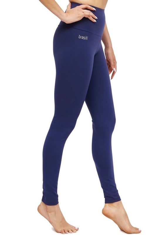 Xtreme Full Length High Waisted Legging - Navy