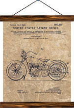 Cycle support patent, reprint on linen