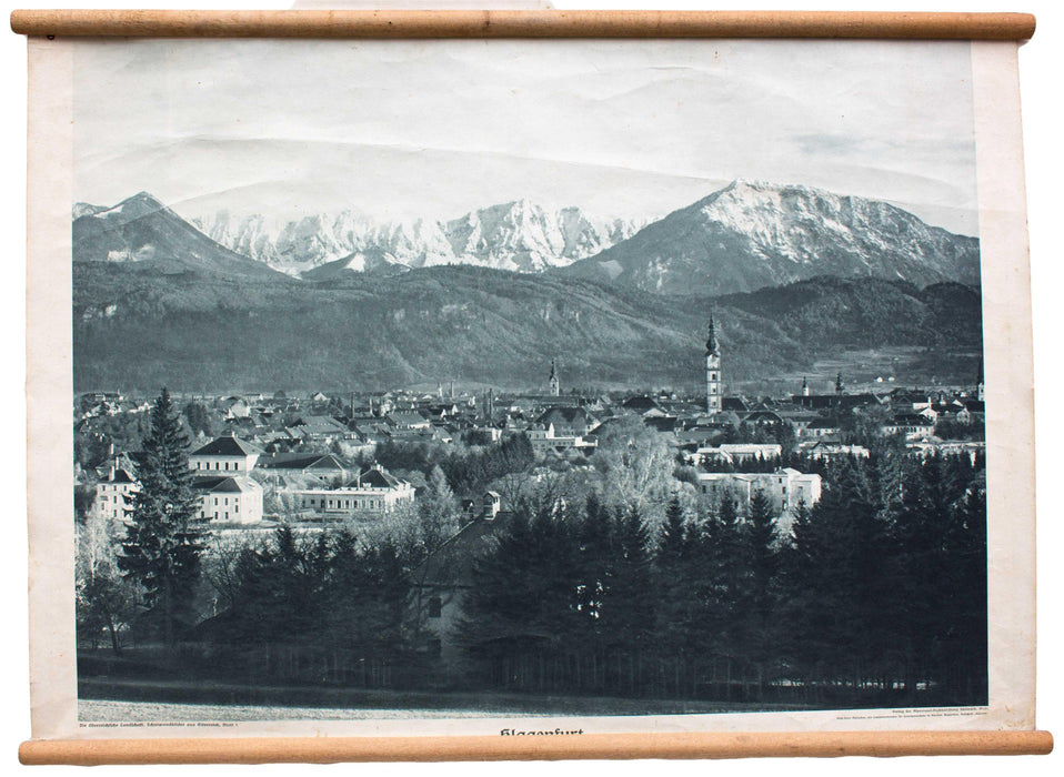 Klagenfurt, educational chart , 1929 - Josef und Josefine