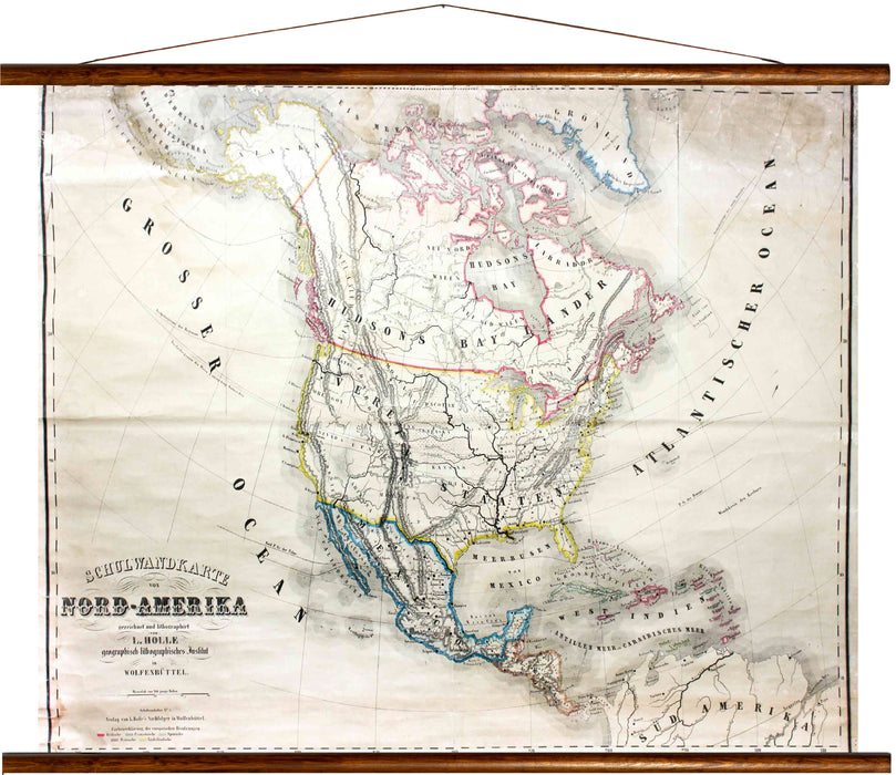 North America, reprint on linen - Josef und Josefine