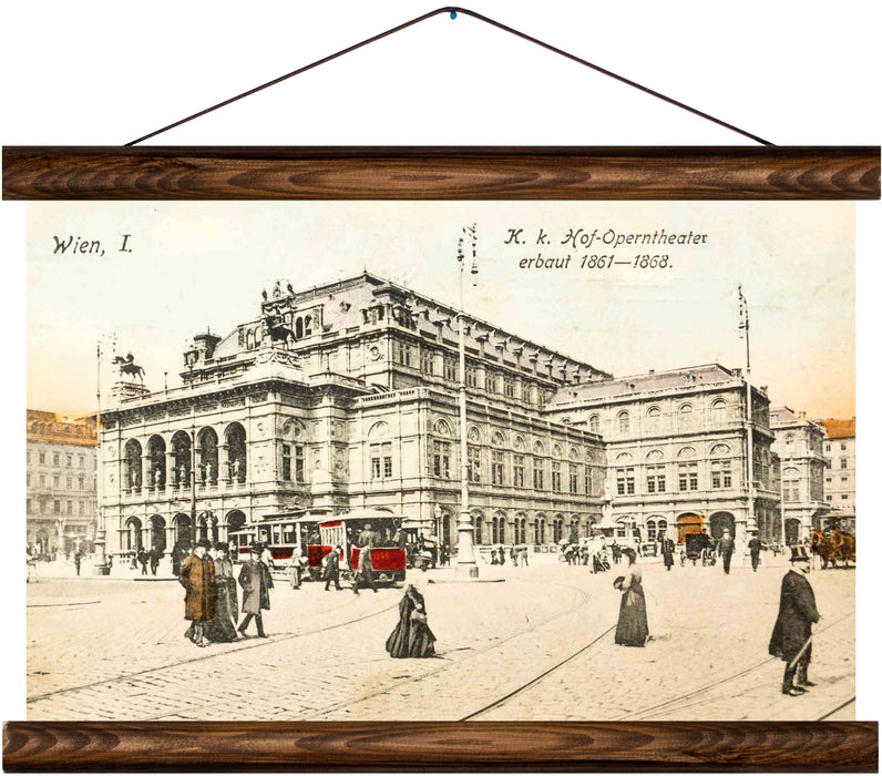 Operntheater, Vienna, reprint on linen - Josef und Josefine