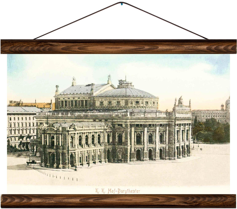 Burgtheater, Vienna, reprint on linen - Josef und Josefine
