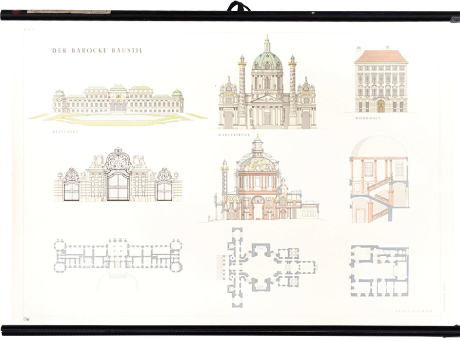 Baroque architecture, 1955 - Josef und Josefine