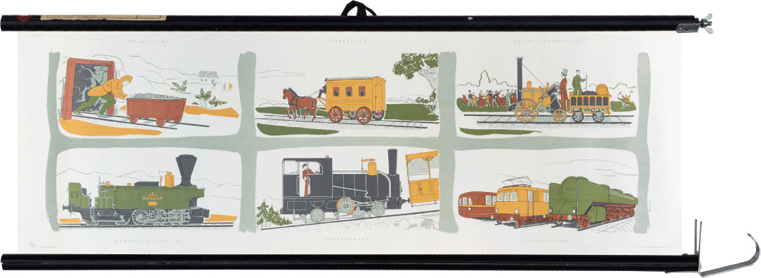 Rail vehicles, H. Demmer, 1950 - Josef und Josefine