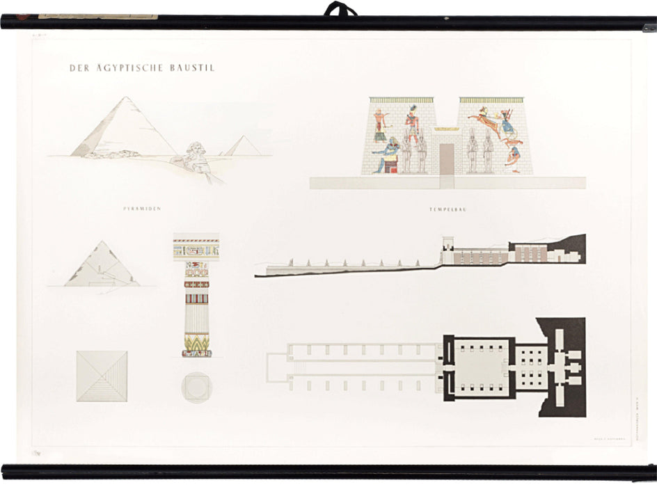 Ancient Egyptian architecture, 1955 - Josef und Josefine