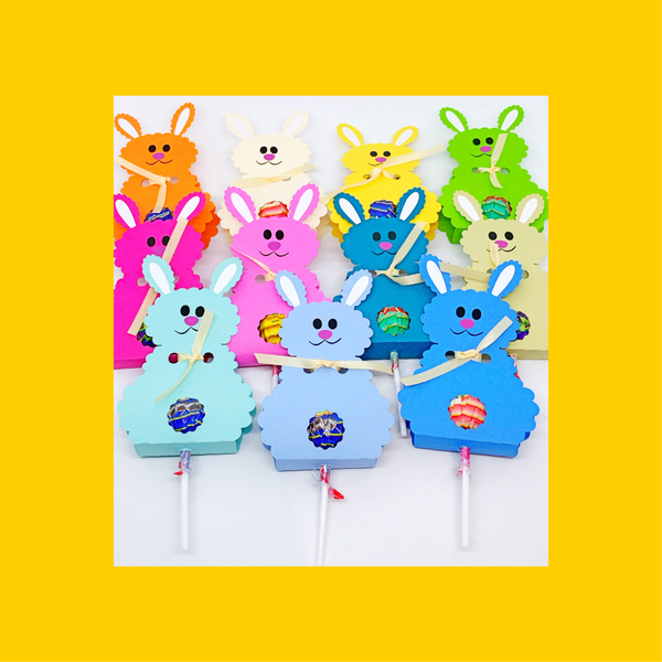 Easter Bunny Lollypop Holders